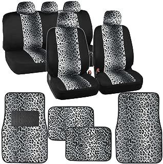 Best leopard seat covers set Reviews