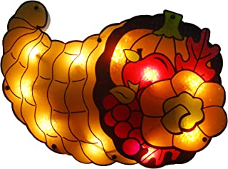 Best lighted fall window decorations Reviews