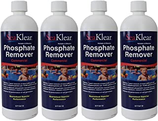 SeaKlear 4 Pack Phosphate Remover Commercial 32oz