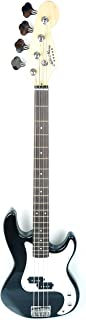 46inch Mike Music Electric Bass Guitar Full Size 4 String Rosewood Basswood with gutiar bag and cable (46 inch MIKE Bass E...