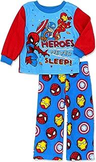 Super Hero Adventures Toddler Boys Long Sleeve Fleece Pajamas Set