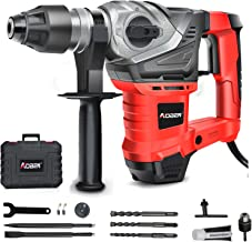 AOBEN SDS-Plus Rotary Hammer Drill with Vibration Control and Safety Clutch,13 Amp Heavy..