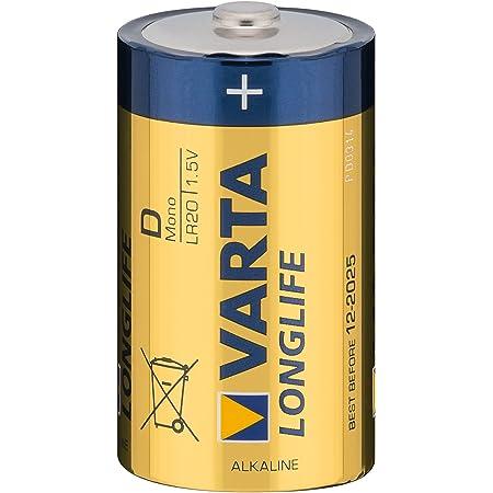 Varta Longlife Extra Batterie Mono 1 5v D Lr20 2 Computer Zubehör