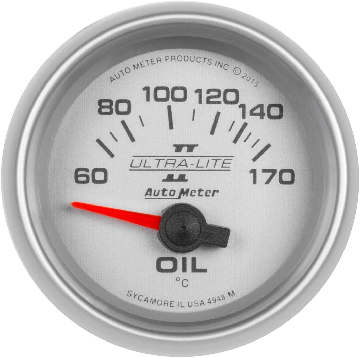 AUTO METER 4948-M Gauge Oil Temp 60-170Ã Large discharge sale II 1 Brand new Ultra-Lite 16