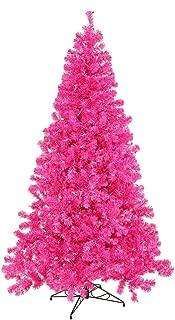 Vickerman Artificial Christmas Tree with 105 PVC Tips & 50 Dura-Lit Italian LED Mini Lights, 3' x 19