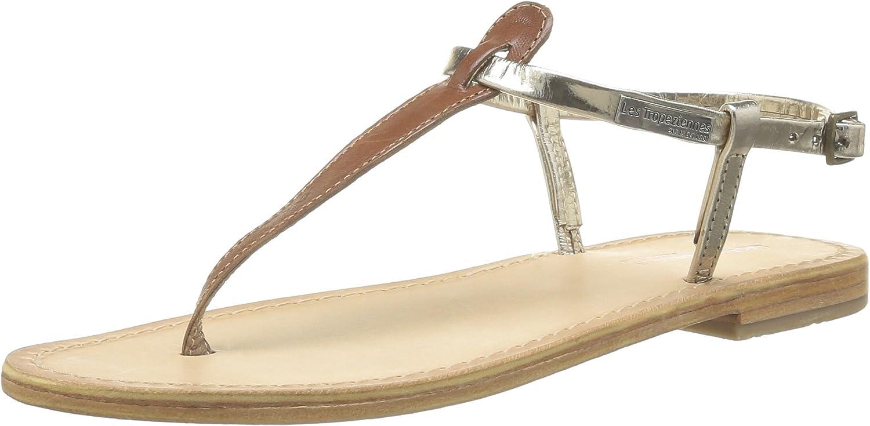 La Redoute Les Tropeziennes Par M Belarbi Womens Narvil Leather Toe-Post Sandals Beige Size 40
