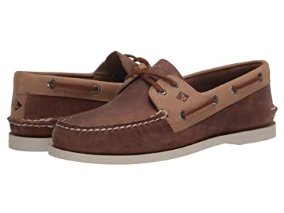 Sperry A/O 2-Eye Wild Horse (Sahara/Oatmeal) Men