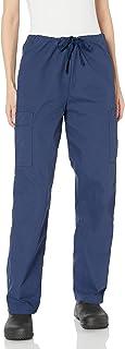 Landau womens Unisex Drawstring Cargo Scrub Pants Medical Scrubs Pants (pack of 1)