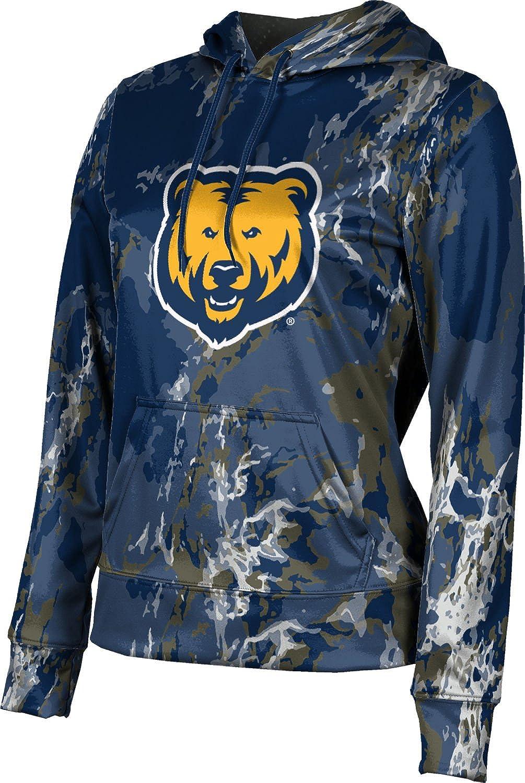 University of Northern Colorado Girls' Pullover Hoodie, School Spirit Sweatshirt (Marble)