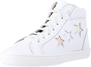 OLD SOLES Girls' Stardom Stylish High Top Trainer Shoes