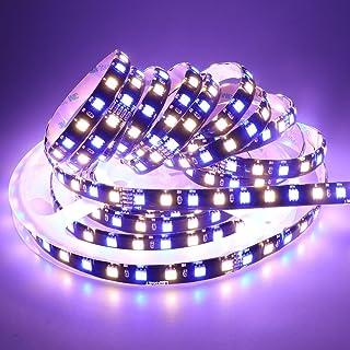 LEDENET Waterproof IP65 Flexible RGBWW LED Strip Lights DC 24V 360LEDs 5M Black PCB Silicone Coating Indoor Decoration Lig...