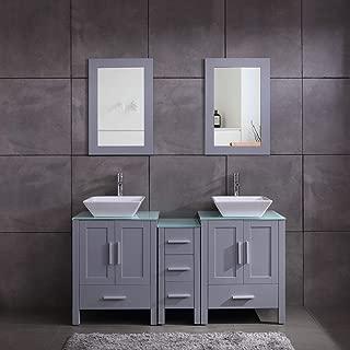 Best 75 double sink vanity Reviews