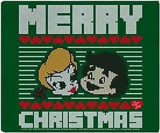 CafePress-I Love Lucy: Ugly Sweater-Soft Fleece Throw Blanket