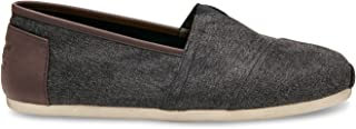 Toms Classic Mens Shoes Grey