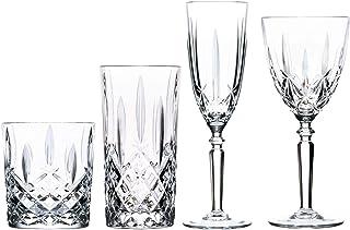 RCR Cristal Orchestre Verre taillé Verrerie - Verres à vin, Flûtes à Champagne, Whisky Gobelets et Verres à Highball - Set...