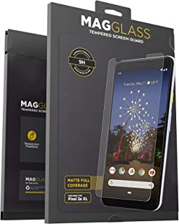 Magglass Google Pixel 3a XL Matte Screen Protector Anti-Glare Tempered Glass Guard (Scratch Resistant)