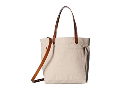 Madewell Canvas Medium Transport Tote (Vintage Canvas) Tote Handbags