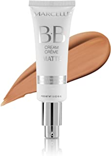 (Medium to Dark) - Marcelle BB Cream Matte, Medium to Dark, Hypoallergenic and Fragrance-Free, 45ml