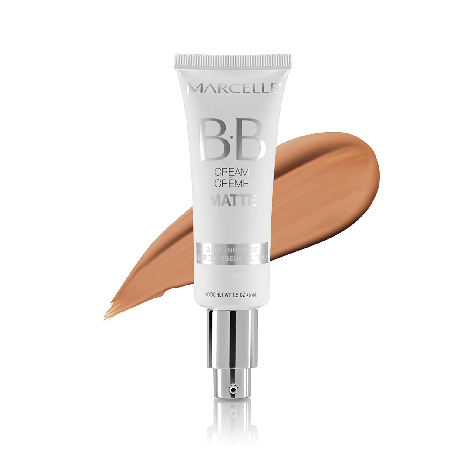 Marcelle BB Cream Matte, Medium to Dark, Hypoallergenic and Fragrance-Free, 1;5 Ounces
