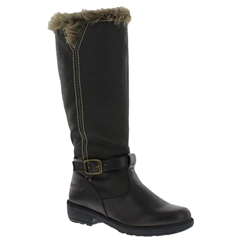 a683f9f0ddf2 totes Womens Esther Side Zipper Cold Weather Boot (Also Available in Wide  Width)