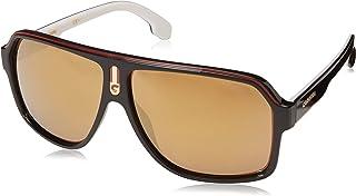 Carrera 1001-S Gafas de Sol Unisex, Black/Red, 62 mm