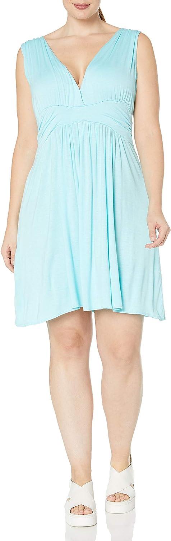 Star Vixen Women's Plus-Size Sleeveless Summer Sun Dress