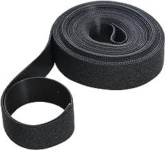 Fixman 684180 Zwarte zelf-Wrap Haak & Loop Tie Tape 25mm x 5m