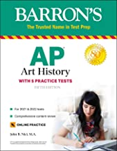 Download Book AP Art History: With 5 Practice Tests (Barron's Test Prep) PDF