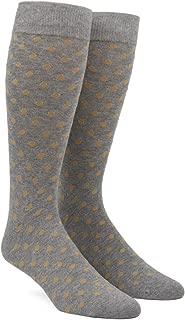 The Tie Bar Circuit Dots Men's Cotton Blend Dress Socks