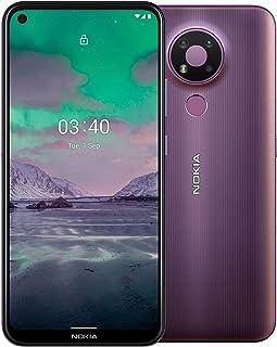 "Nokia 3.4 4G Smartphone with 6.39"" HD+ screen, Dual SIM, 64GB ROM, 4GB RAM, Snapdragon 460, 2-day battery life, Portrait a..."