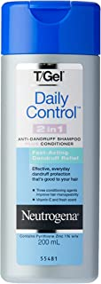 T/Gel Daily Control 2-in-1 Anti-Dandruff Shampoo Plus Conditioner 200mL