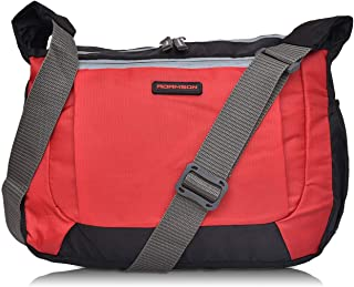 Adamson Glorious Men and Women red and Black slingbag (ASB-046)