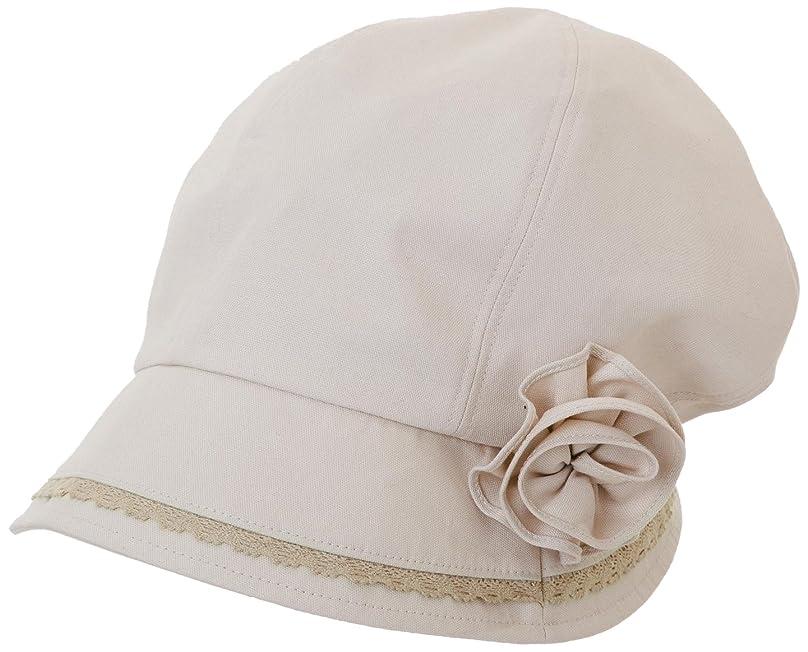 剥離アブストラクトバターUVふんわり小顔帽子