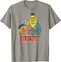 Sesame Street Bert & Ernie Friendship Level: Best T-Shirt