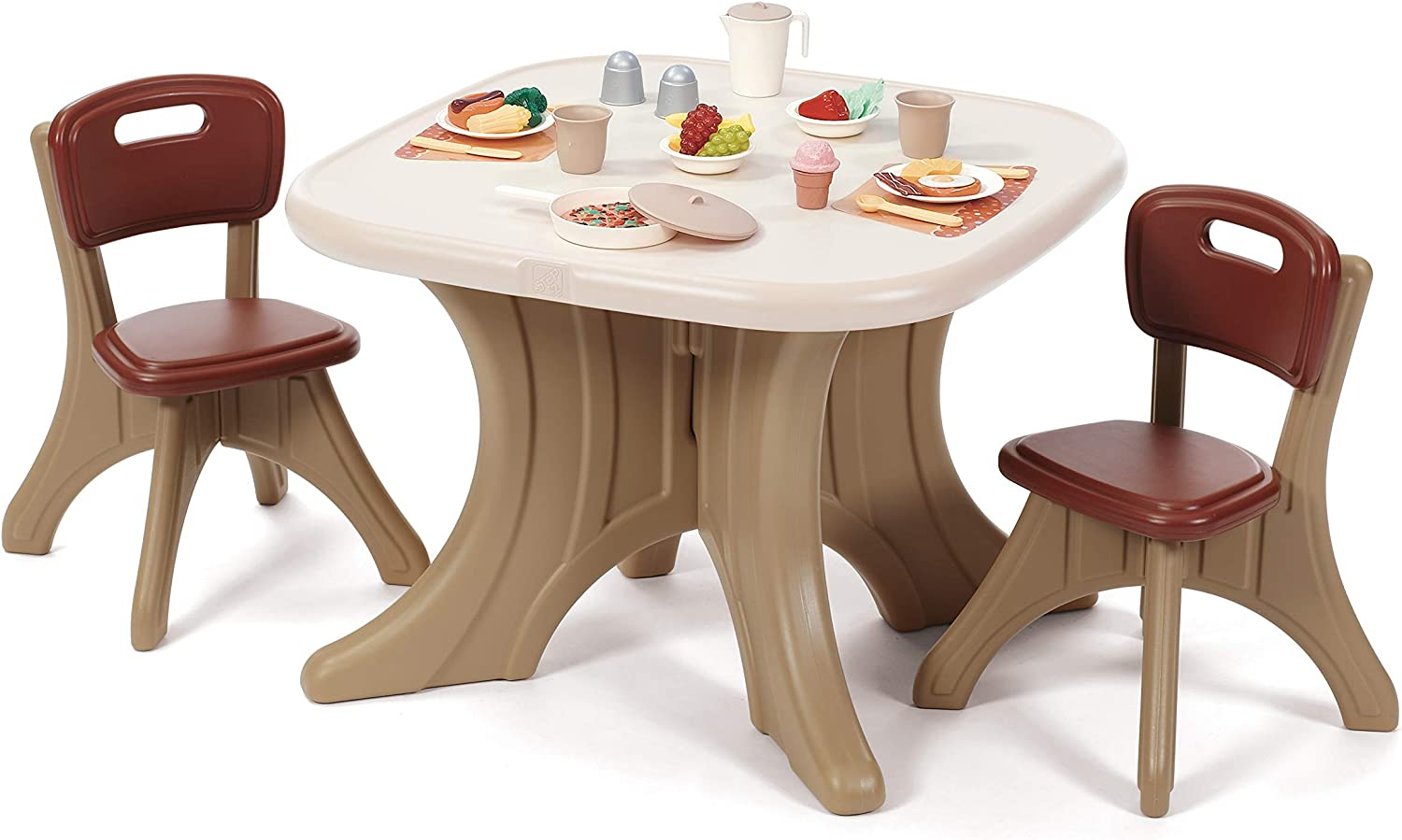 Amazon.com Step9 Traditions Table & Chairs Set  Home & Kitchen