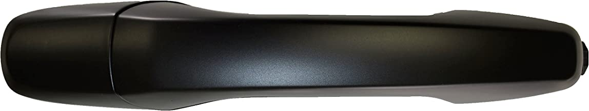 PT Auto Warehouse FO-3747P-FRK - Outside Exterior Outer Door Handle, Primed Black - without Push Button, Passenger Side Front