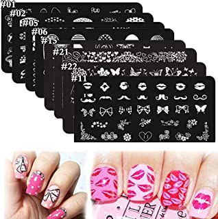 it girl stamping plates