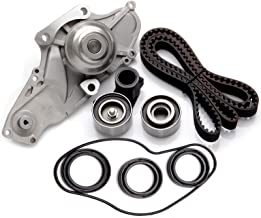 cciyu Timing Belt Water Pump with Gasket Tensioner Bearing Fits 2003-2009 Acura Honda 3.0L 3.2L 3.5L 3.7L SOHC 24V