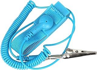 Antistatische Armb/änder Antistatisches Silikon Verstellbarer Armband Entladungsschutz Antistatisches Band ESD Antistatische Armbandkomponenten Verhindert Die Bildung Statischer Elektrizit/ät