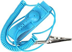 Anti-Static Wrist Strap Wristband / Band ESD Discharge. Prevents Build Up of Static Electricity - By TRIXES