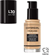Covergirl Trublend Matte Made Liquid Foundation, L30 Golden Ivory, 1 Fl Oz