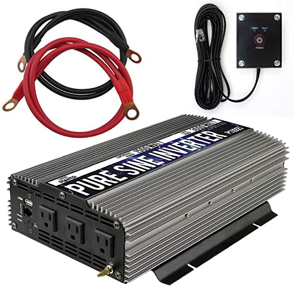 GoWISE Power PS1005 Pure SINE Wave Inverter 1500W Cont 3000W Peak