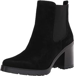 حذاء برقبة حتى الكاحل للنساء من Franco Sarto أسود ، 7
