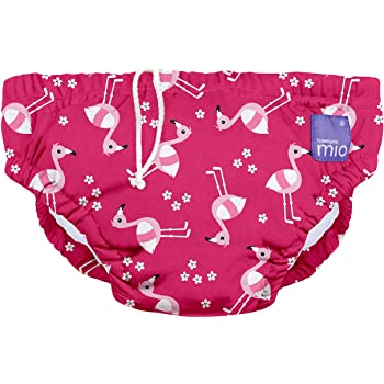 0-6 Monate wiederverwendbare schwimmwindel flamingo-pink S Bambino Mio