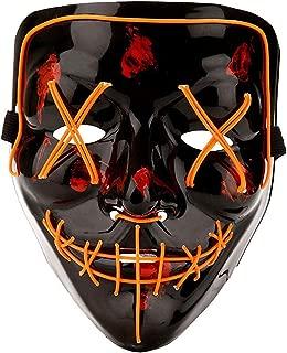 purge mask orange