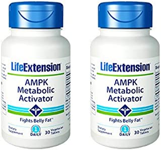 Life Extension AMPK Metabolic Activator 30 tabletss X 2