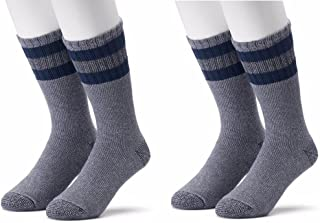 Cotton Blend Boot Socks - Cold Weather Comfort - 2 Pair