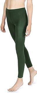 sockenkauf24 Damen THERMO Leggings mit Innenfleece in 10 Farben extra warm Winter Leggings