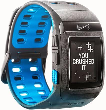 Lingüística motivo pared  Nike+ SportWatch GPS Powered by Tomtom (Anthracite/Blue Glow): Amazon.ca:  Sports & Outdoors