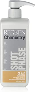 Redken Chemistry Shot Phase All Soft Deep Treatment for Unisex, 16.89 Ounce